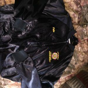 Black marines authentic uniform jacket